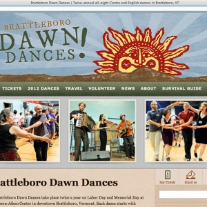 Dawn Dance site overview