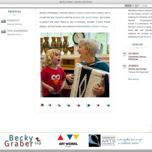 Becky Graber site footer