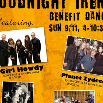 Goodnight Irene Benefit Poster