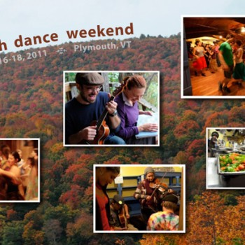 Postcard design for Youth Dance Weekend