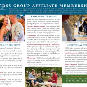CDSS Group Membership Brochure page 2