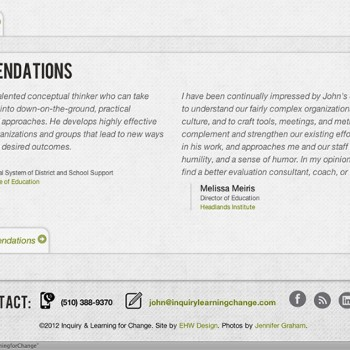 ILC Site Footer