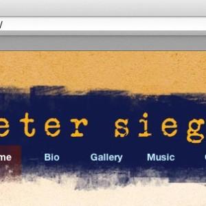 Peter Siegel Site Header