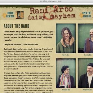 Rani Arbo Page Design
