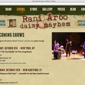 Rani Arbo Page Header