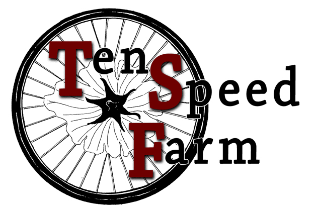 Logo design for Ten Speed Farm